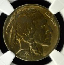 1923-S Buffalo Nickel NGC VF Details I/C