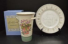 2 Signed pieces of Wedgwood