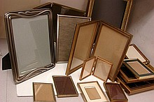 Box lot of Assorted Picture Frames