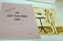 Mary Tyler Moore Autographed Script, S.Temple Pic