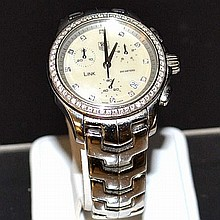 Lady's Stainless Tag Heuer Link Watch