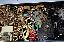 Lot of Costume Jewelry & Eyeglasses
