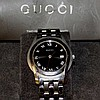 Man's stainless Gucci 5500M Watch
