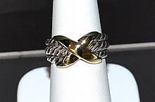 14k Sterling Cable Ring David Yurman