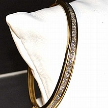 14kyg Diamond Bangle Bracelet 1.20ctw