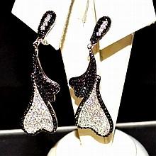 Sterling Fashion Earrings By Dizio