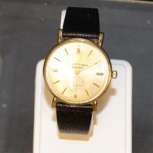 10k goldfilled Girard Perregeau Watch