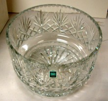 Heavy Centerpiece Bowl Avitra 24% Lead Crystal