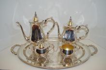 Silver Plate Coffee/Tea Service