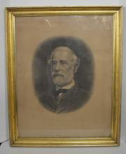 Engraving of Robert E. Lee