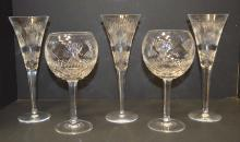 5 pieces of Waterford crystal