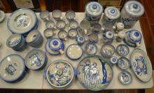Large lot of Hadley dishware