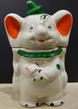 Vintage Walt Disney Dumbo Turnabout Cookie Jar