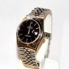 Man's Stainless Rolex Datejust Watch
