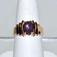 14kyg Star Ruby Ring #1573