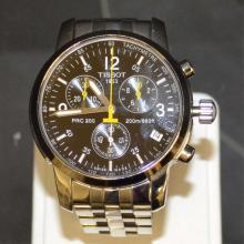 Stainless Tissot PRC200 Chronograph Watch