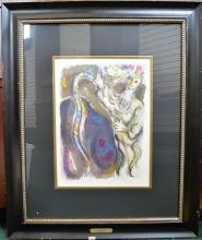 Chagall Lithograph