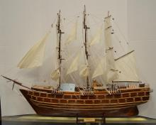 Hand Crafted Ship Model of