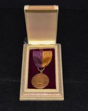 1962 14k Gold Medal University of Minn