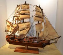 Hand Crafted Ship Model of the Constitution