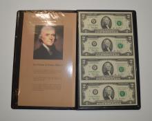 Wisdom of Jefferson $2.00 bills