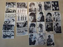 26 1964 B&W Beatles Bubble Gum Trading Cards