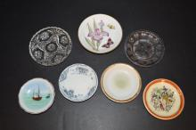 Lot of small dishes