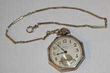14kwg Waltham Pocket Watch