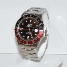 Men's stainless Rolex GMT II