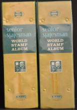 Worldwide Stamp Collection in 2 Large Albums