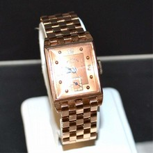 Vintage 14k Rose Gold Pau Ditisheim Watch