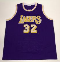 Magic Johnson Signed Jersey