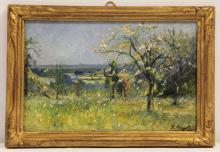 FREDERIC EMILE JEAN OIL PAINTING ON BOARD
