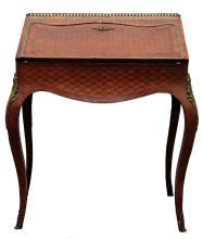 Louis XV Style Bronze Mounted Ladies Desk