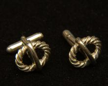 Vintage Tiffany and Co.  925 Cufflinks