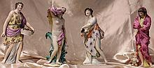 Samson German Porcelain Figural Group