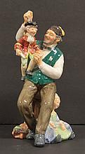 Royal Doulton Figure The Puppet Maker HN 2253