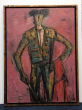 Jaime Oates 1912-2005 Painting