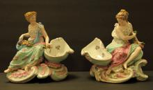French Porcelain Ch Levy Charenton