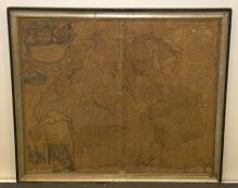 Johan Baptiste Homann Map of Switzerland circa 1720 - 1730