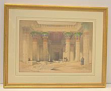 David Roberts - Grand Portico of the Temple of Philae, Nubia