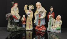 LOT OF 4 CHINESE PORCELAIN