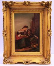A. MILANO 17TH CENTURY OIL PAINTING OIL PAINTING