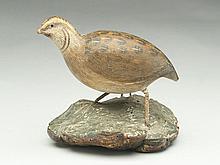 Carved quail.