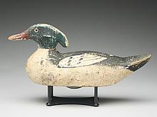 Merganser drake, Gundelfinger Wood Products, Co., Jefferson City and St. Louis, Missouri.