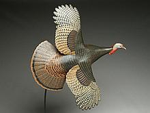 2/3 size flying turkey, Eddie Wozny, Cambridge, Maryland.