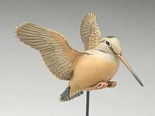 1/2 size flying woodcock, Eddie Wozny, Cambridge, Maryland.