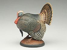 Miniature turkey, Eddie Wozny, Cambridge, Maryland.