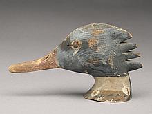 Merganser drake head, Harry V. Shourds, Tuckerton, New Jersey.