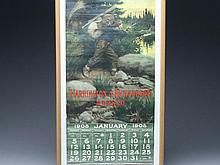 1908 Calendar, Herrington & Richardson Arms Company.